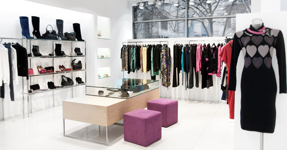 atmospherics in a retail store